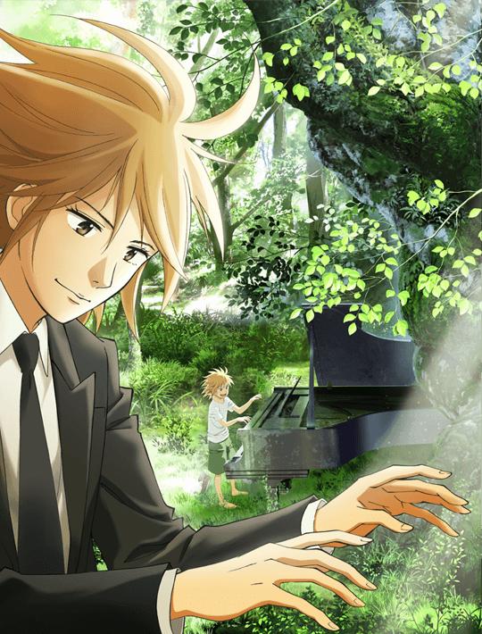 「ピアノの森」キービジュアル第1弾